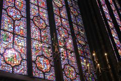 Sainte Chapelle Royalty-vrije Stock Foto's