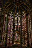 Sainte Chapelle Royalty-vrije Stock Afbeeldingen