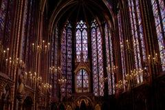 Sainte Chapelle stockbild