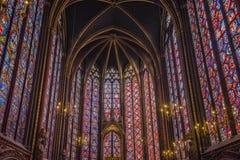 Sainte Chapelle Fotografía de archivo libre de regalías