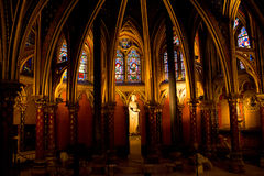 Sainte Chapelle Image stock