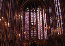 Sainte Chapelle Lizenzfreie Stockfotos