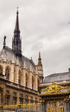 Sainte Chapelle Cathedral Palace Justice Paris France Stock Photos