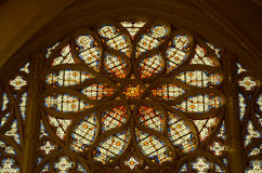 Sainte-Chapelle - Chateau de Vincennes Photos stock