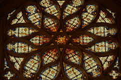 Sainte-Chapelle - Chateau de Vincennes Stock Photo