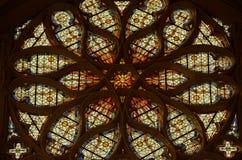 Sainte-Chapelle - Chateau de Vincennes stock photo