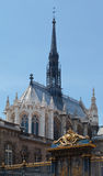 Sainte Chapelle Church Paris Stock Image