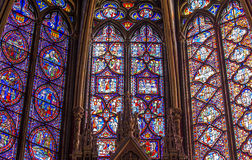 The Sainte Chapelle church, Paris, France Stock Photos
