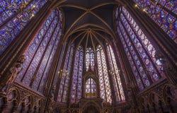 The Sainte Chapelle church, Paris, France Stock Photo