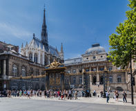 Sainte Chapelle Church Paris Royalty Free Stock Images