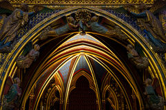 Sainte Chapelle church, Paris Royalty Free Stock Photography