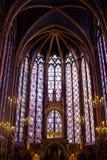 Sainte-Chapelle (heilige Kapelle) in Paris lizenzfreie stockfotografie