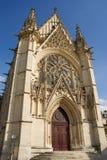 The Sainte-Chapelle (Holy Chapel) Stock Photography