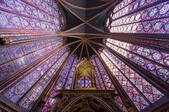 Sainte Chapelle, ile de la cite, Paris, France Stock Image