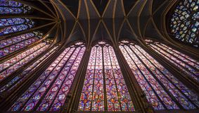 Sainte Chapelle, ile de la cite, Paris, France Royalty Free Stock Image