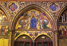 Sainte Chapelle, ile de la cite, Paris, France Stock Photos