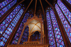 Sainte Chapelle, ile de la cite, Paris, France Royalty Free Stock Photos