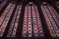 Sainte Chapelle, ile de la cite, Paris, France Stock Photo