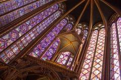 Sainte Chapelle a Parigi Immagine Stock Libera da Diritti