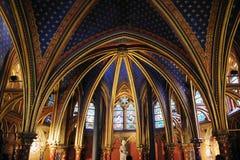 Sainte Chapelle in Parijs Royalty-vrije Stock Afbeelding