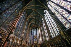 Sainte Chapelle in Parijs Royalty-vrije Stock Afbeeldingen