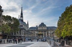 Sainte Chapelle in Parijs Stock Fotografie