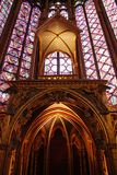 Sainte Chapelle Parijs Royalty-vrije Stock Foto's