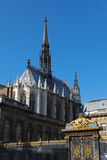 Sainte Chapelle in Paris Royalty Free Stock Photography