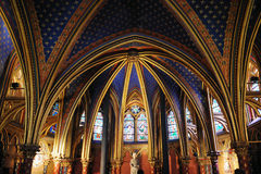 Sainte Chapelle in Paris. France Royalty Free Stock Image