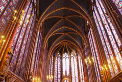 Sainte Chapelle Paris Stock Images