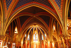 Sainte Chapelle Paris Royalty Free Stock Images