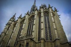Sainte-Chapelle in Paris. Chapel La Sainte-Chapelle in Paris, France Royalty Free Stock Image
