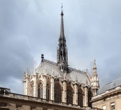 Sainte Chapelle Paris France Royalty Free Stock Image