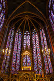 Sainte Chapelle in Paris, France. Royalty Free Stock Photos