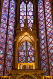 Sainte Chapelle in Paris, France. Stock Photography