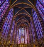 The Sainte Chapelle Paris Royalty Free Stock Photos