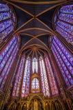 The Sainte Chapelle Paris Stock Images