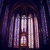 Sainte Chapelle, Paryż, Francja Obraz Royalty Free