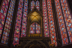 Sainte Chapelle Royalty Free Stock Photos