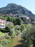 Sainte Claude. View of the picturesque town of Sainte Claude in the Haut Jura region of France Royalty Free Stock Images