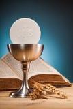 Sainte communion chrétienne image stock
