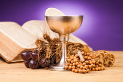 Sainte communion de Chrystian Photo stock