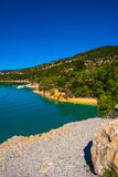 湖Sainte-Croix 库存照片