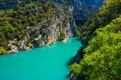 湖Sainte-Croix 免版税图库摄影