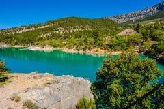 湖Sainte-Croix 免版税库存图片