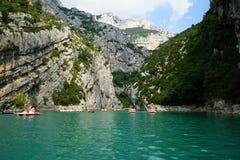 Sainte-Croix湖  免版税图库摄影