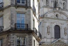 Sainte croix church in Nantes city Royalty Free Stock Photos