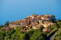 Sainte Croix Du Verdon Провансаль, Alpes, Франция Стоковые Изображения RF