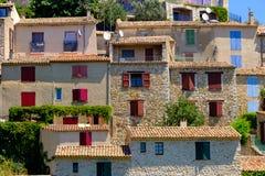 Sainte Croix Du Verdon Провансаль, Alpes, Франция Стоковое Фото