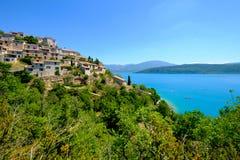 Sainte Croix Du Verdon Provence, Alpes, Frankrijk Royalty-vrije Stock Afbeeldingen